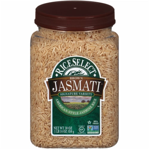 RiceSelect Gluten Free Jasmati Brown Rice 4 Count Perspective: front