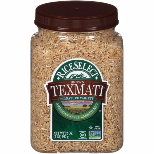 RiceSelect Brown Texmati American-Style Basmati Rice Perspective: front