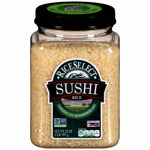 RiceSelect Gluten-Free Sushi Rice (4 Pack) Perspective: front