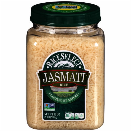 RiceSelect Jasmati White Rice (4 Pack) Perspective: front
