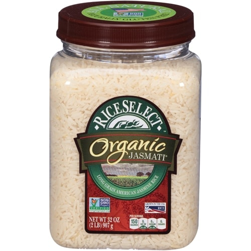 RiceSelect Organic Jasmati Long Grain Rice Perspective: front