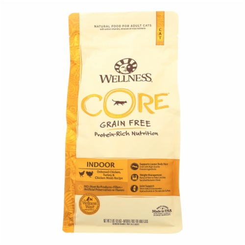 Wellness Pet Products Cat Food - Core Air Dried Cat Recipes - Case of 8 - 2 lb. Perspective: front