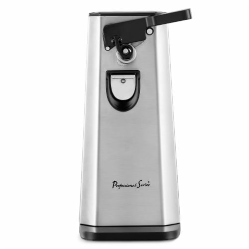 Professional Series Can Opener and Bottle Opener Stainless Steel Perspective: front