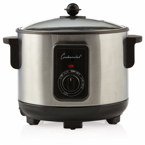 Continental 5 Liter Deep Fryer and Multi Cooker Stainless Steel Perspective: front