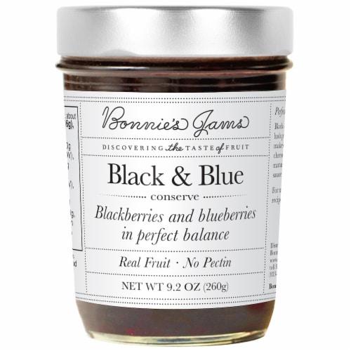 Bonnie's Jams Black & Blue Perspective: front