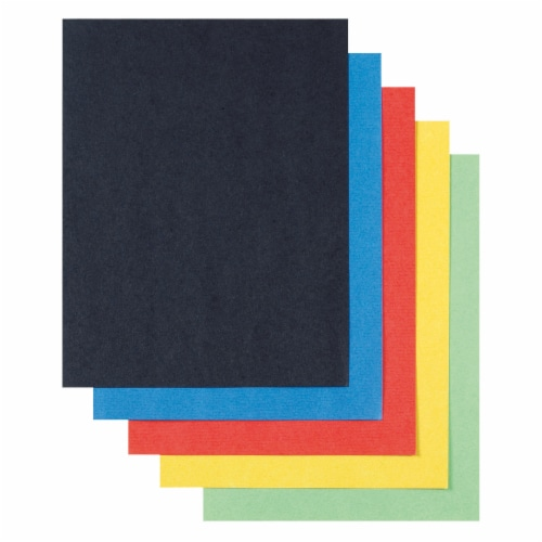 Pacon Super Value Poster Board - 50 Sheets - Assorted Perspective: front