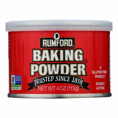 Rumford - Baking Powder - Aluminum-Free - Case of 24 - 4 oz. Perspective: front