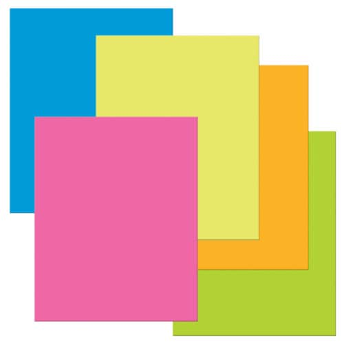UCreate Premium Coated Poster Board - Assorted Perspective: front
