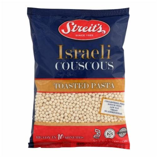 Streit's Israeli Couscous - Case of 24 - 8.8 oz. Perspective: front