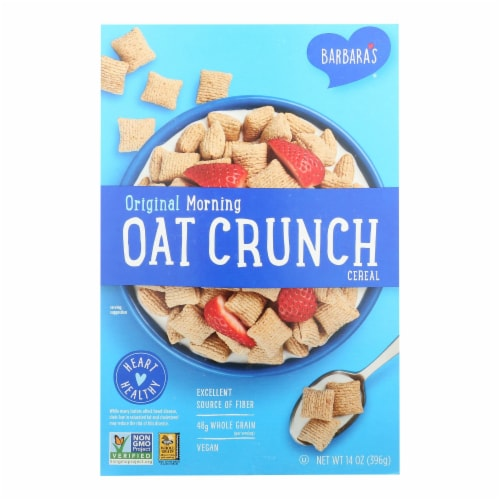 Barbara's Bakery - Cereal - Morning Original Oat Crunch - 14 oz Perspective: front