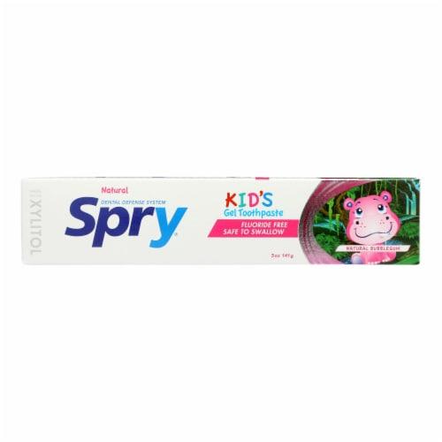 Spry - Tpaste Kids Bblgm Flrd Fr - 1 Each - 5 OZ Perspective: front