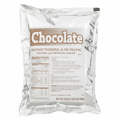 Chefs Companion Instant Chocolate Pudding Mix, 24 Ounce -- 12 per case. Perspective: front