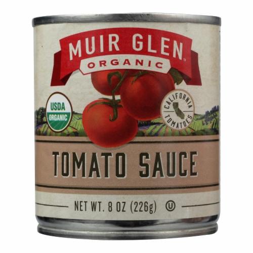 Muir Glen Organic Regualr Tomato Sauce - Case of 24 - 8 fl oz Perspective: front