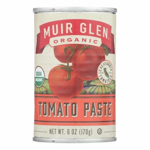 Muir Glen Muir Glen Tomato Paste - Tomato - Case of 24 - 6 oz. Perspective: front