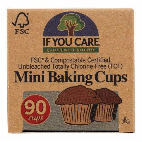 If You Care Baking Cups - Mini Cup - Case of 24 - 90 Count Perspective: front