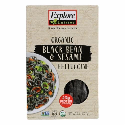 Explore Cuisine - Fett Black Bean Sesame - Case of 6 - 8 OZ Perspective: front