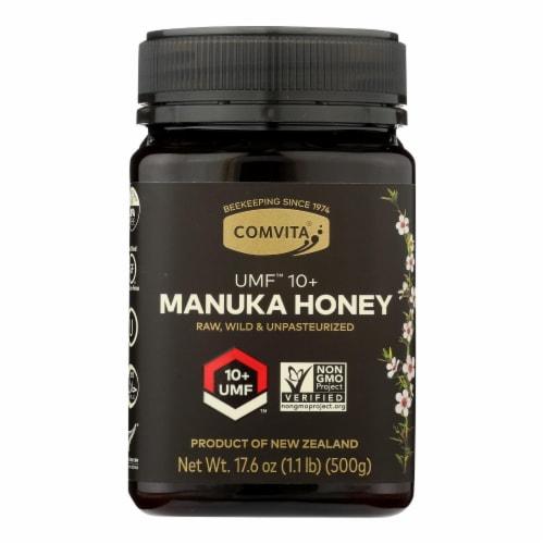 Comvita - Umf 10+manuka Honey - Case of 3 - 17.6 OZ Perspective: front