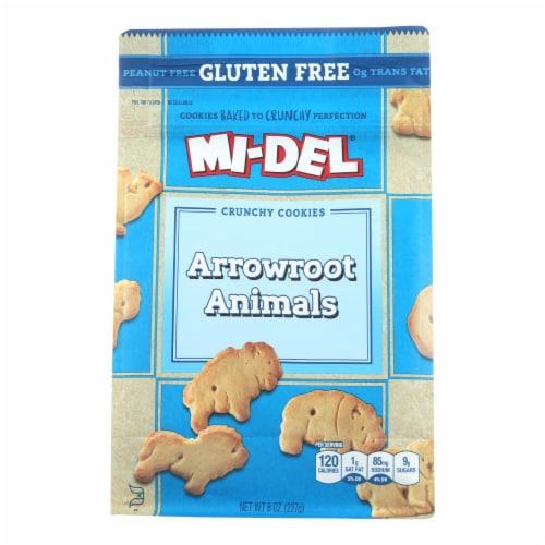 Midel Cookies - Arrowroot Animal - Case of 8 - 8 oz Perspective: front
