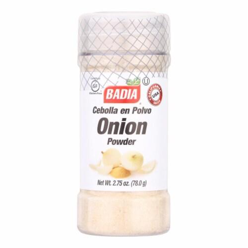 Badia Onion Powder  - Case of 8 - 2.75 OZ Perspective: front