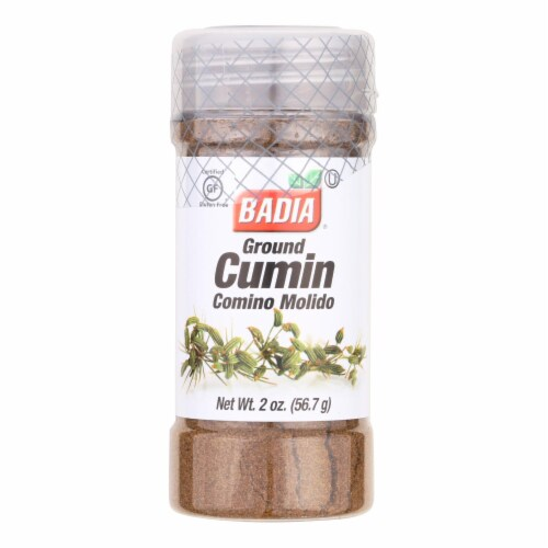 Badia Ground Cumin  - Case of 8 - 2 OZ Perspective: front