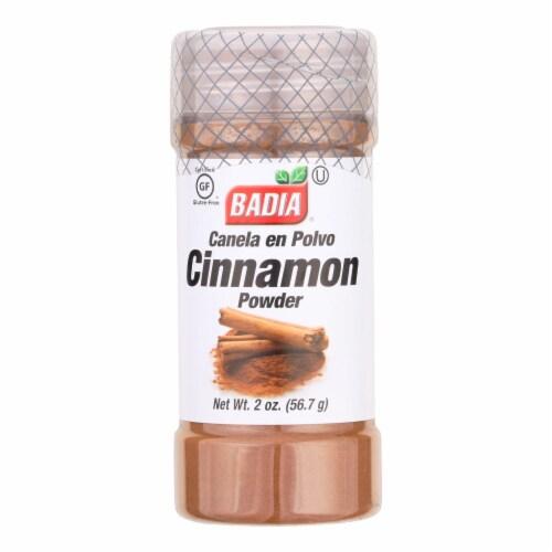 Badia Canela En Polvo Cinnamon Powder  - Case of 8 - 2 OZ Perspective: front