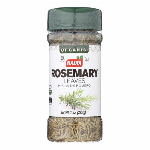 Badia Organic Rosemary - Case of 8 - 1 OZ Perspective: front