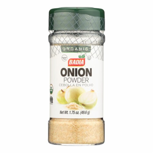 Badia Spices - Spice Onion Powder - Case of 8 - 2.47 OZ Perspective: front
