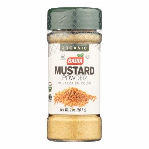 Badia Spices - Spice Mustard Powder - Case of 8 - 2 OZ Perspective: front