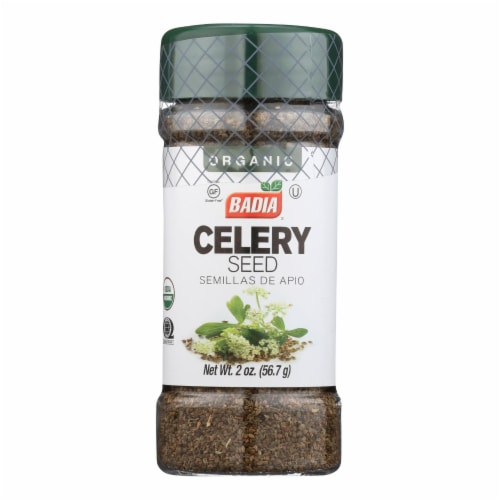 Badia Spices - Spice Celeryseed - Case of 8 - 2 OZ Perspective: front