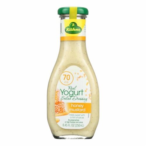 Kuhne Honey Mustard Yogurt Salad Dressing  - Case of 8 - 8.45 FZ Perspective: front