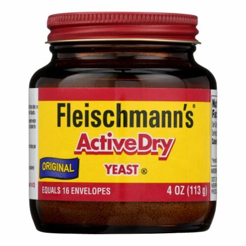 Fleischmann's Classic - Yeast Original Active Dry Jar - Case of 8-4 OZ Perspective: front