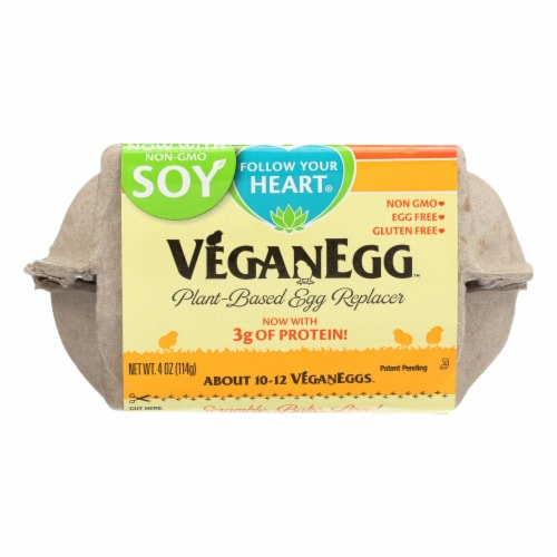 Follow Your Heart - Vegan Egg Powder - Case of 8 - 4 OZ Perspective: front