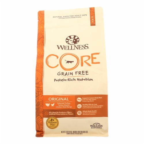 Wellness Pet Products Cat Food - Core Fish and Fowl - Case of 8 - 2 lb. Perspective: front