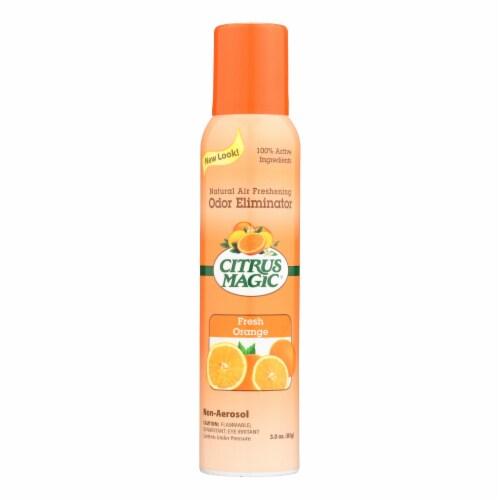 Citrus Magic Natural Odor Eliminating Air Freshener - Fresh Orange - 3.5 oz Perspective: front