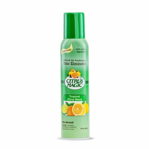 Citrus Magic Air Freshener - Tropical Citrus Blast - Case of 6 - 3.5 fl oz Perspective: front