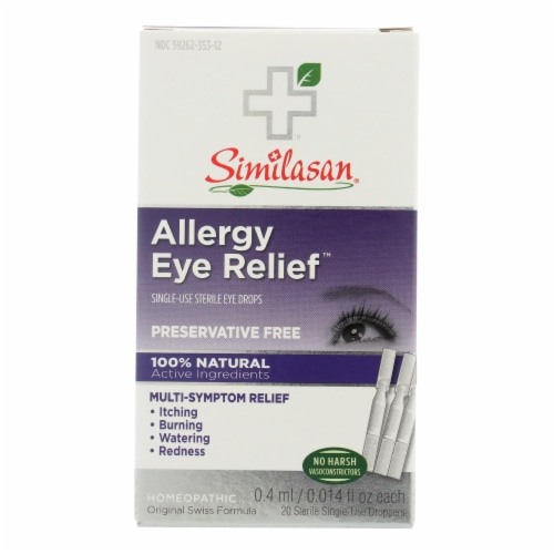 Similasan Allergy Eye Relief - 0.015 fl oz Perspective: front