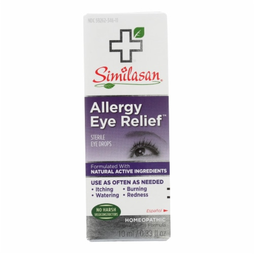Similasan Allergy Eye Relief - 0.33 fl oz Perspective: front
