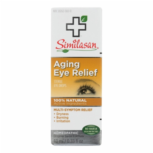 Similasan Eye Drops - Aging Relief - .33 fl oz Perspective: front