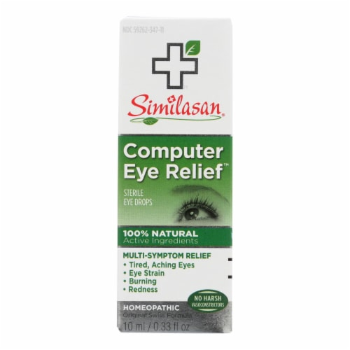 Similasan Computer Eye Relief - 0.33 fl oz Perspective: front