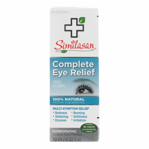 Similasan Eye Drops - Complete Relief - .33 oz Perspective: front