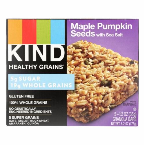 Kind Bar - Granola - Healthy Grains - Maple Pumpkin Seeds Sea Salt - 5/1.2 oz - case of 8 Perspective: front