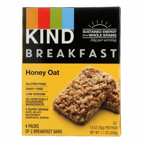 Kind Honey Oat - Case of 8 - 1.8 oz. Perspective: front