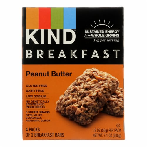 Kind Peanut Butter - Case of 8 - 1.8 oz. Perspective: front