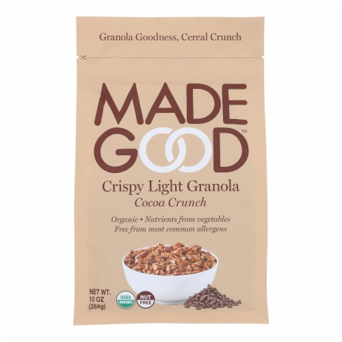 Made Good Crispy Light Granola Cereal - Case of 8 - 10.0 OZ Perspective: front
