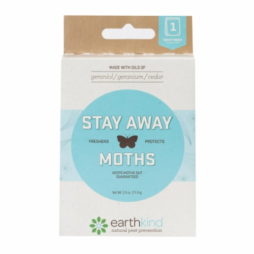 Stay Away Bugs and Rodents Moths - Case of 8 - 2.5 oz. Perspective: front