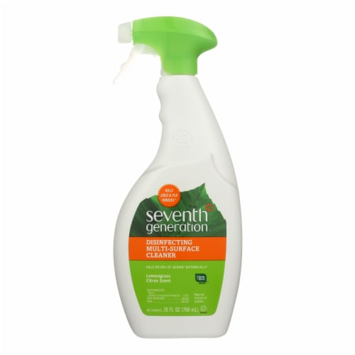Seventh Generation All Purpose Natural Cleaner - Free and Clear - Case of 8 - 26 Fl oz. Perspective: front