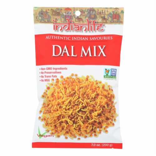 Indian Life Foods - Mix Dal - Case of 8 - 7 OZ Perspective: front
