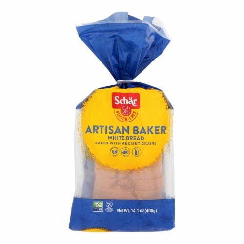 Schar - Bread Artisan Baker White - Case of 8-14.1 OZ Perspective: front