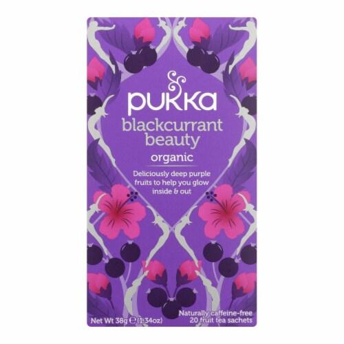 Pukka Herbal Teas - Tea Blkcrnt Beauty - Case of 6 - 20 CT Perspective: front