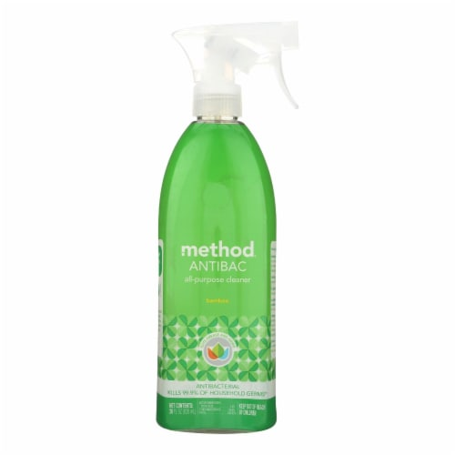 Method Products All Purpose Cleaner - Bamboo - Case of 8 - 28 Fl oz. Perspective: front